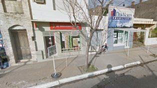 La tómbola que vendió el premio en La Paz. Foto Google.