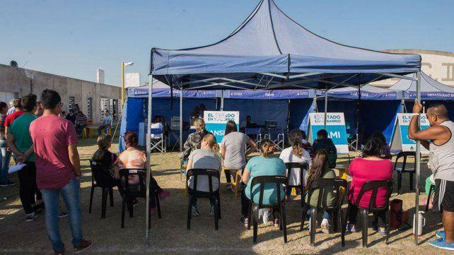 Paraná: El Estado en tu Barrio se instala hasta el miércoles en el club Peñarol