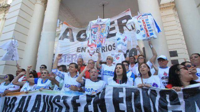 Desde Agmer reclaman: El Gobierno insiste en poner trabas a la discusión salarial