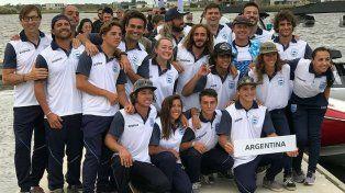 Argentina hizo podio en el mundial de wakeboard con sello paranaense