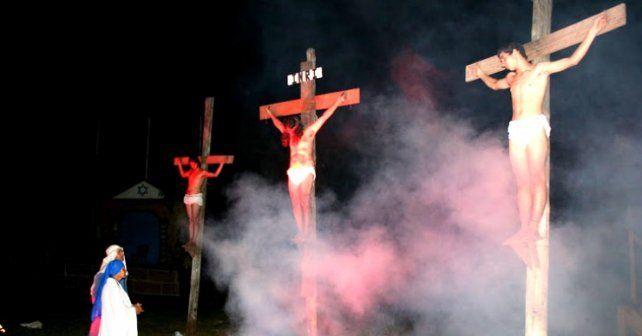 Con 100 actores. En el Kilómetro 5 y 1/2 harán una de las iniciativa más convocantes: el Vía Crucis Viviente.