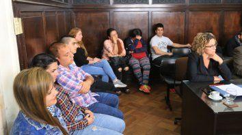 Abreviado. Luego de mucho tiempo de negociaciones, los imputados confesaron ante la jueza Carnero.
