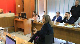 Sorpresa. Isabel Budini Abib había intermediado en la denuncia por el robo de elementos del depósito.