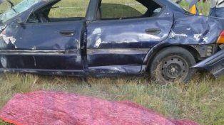 Murió un hombre en un vuelco en Autovía Artigas