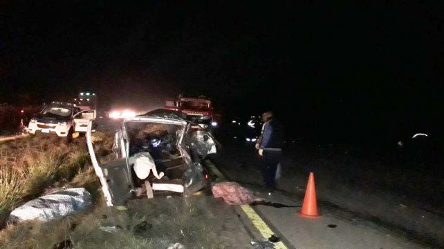 Terrible accidente con seis personas fallecidas y dos heridos graves