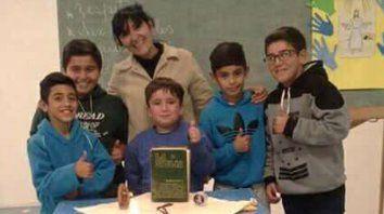 la religion y el deporte se unen en un club de parana para formar al semillero
