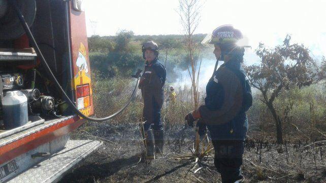 Incendios de pastizales siguen causando inconvenientes en rutas entrerrianas