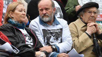 sergio maldonado marcha al cumplirse ocho meses de la desaparicion de santiago