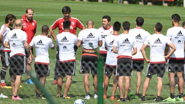 Con lo mejor. El equipo de Marcelo Gallardo pondrá en cancha lo mejor que tiene para tratar de sumar en la mañana de Florencio Varela.