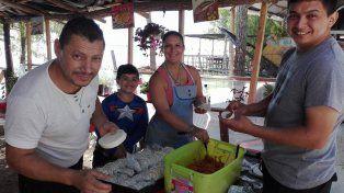 Exquisiteces. Las familias del barrio ofrecerán variados menús a los visitantes. Foto Gentileza El Viejo Villaba.