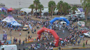 700 maratonistas homenajearon a los héroes de Malvinas en Paraná