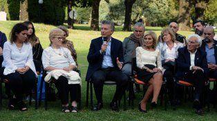 Vamos a seguir luchando por la soberanía de las Islas, prometió Macri