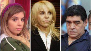 Claudia Villafañe habló de la ausencia de Diego Maradona en la boda de su hija Dalma