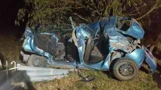 Dos personas perdieron la vida tras el tremendo choque sobre Ruta 12