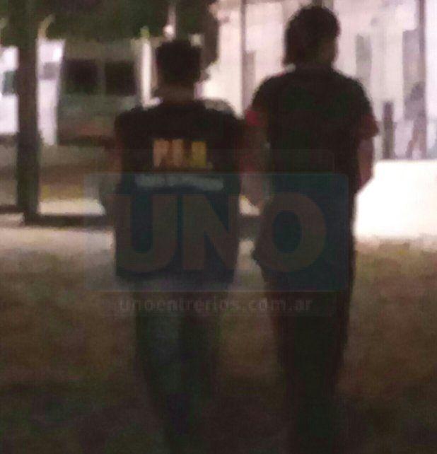 Abusador. El condenado por violación fue derivado de inmediato al penal de Paraná.