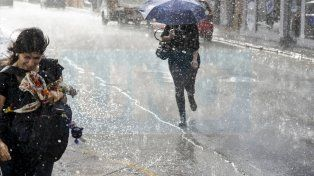 Llegó la lluvia a la capital entrerriana