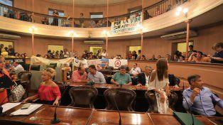 Los diputados del oficialismo participaron de las reuniones. FotoUNODiego Arias.