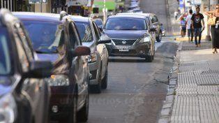 Más autos. En marzo se patentaron en la provincia 2.360 vehículos.