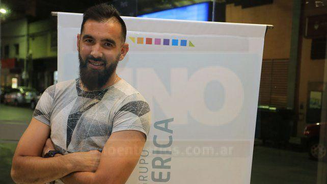 Agradecido. Héctor Acebedo se siente un privilegiado por poder vivir exclusivamente del deporte más popular. Apunta a progresar y subir niveles en su carrera deportiva.