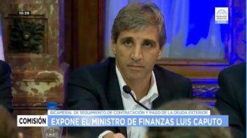 caputo expuso ante la bicameral en el congreso: el tema de las offshore no es delito