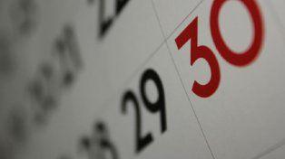 Una buena: faltan 11 días para el próximo feriado