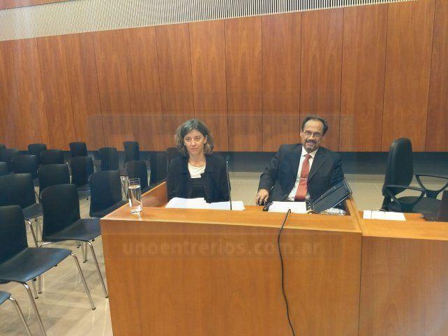Mantener las penas. Los procuradores defendieron el fallo de la Cámara de Casación Penal. Foto: Javier Aragón