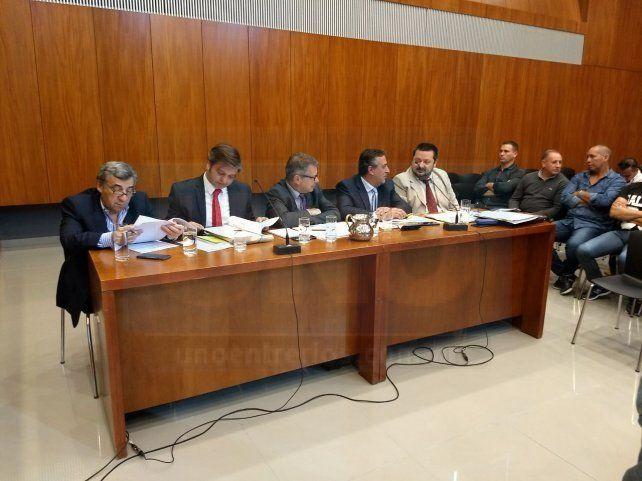 Revisión total. Los defensores plantearon la nulidad de los efectos de la sentencia de Casación. Foto: Javier Aragón.