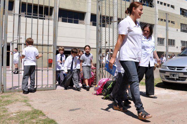 Los colegios privados ya registran aumentos en su cuota de abril