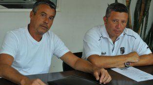 Organizadores. Fernando Fornero y Julio Martin brindaron detalles de la actividad infantil.