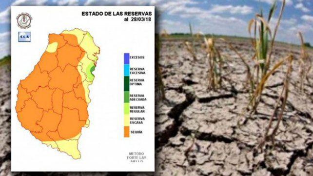 La sequía avanza y advierten que se pone en riesgo las siembras de mayo