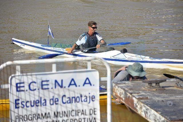 El Canotaje es una de las primeras actividades deportivas habillitadas
