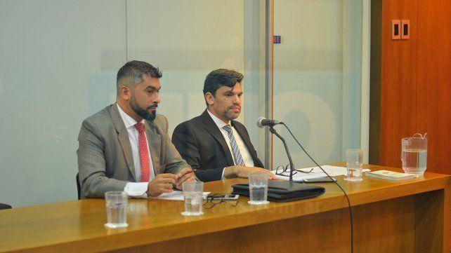 Irán por la condena. Los fiscales van a reclamar mañana una pena superior a los 11 años de cárcel. Foto: Juan Hernández.