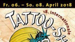 Bruno Zek continúa tatuando en las convenciones europeas