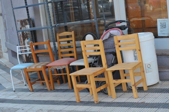Variedad. En la ciudad de Paraná se pueden encontrar productos de todo tipo y a precios convenientes.