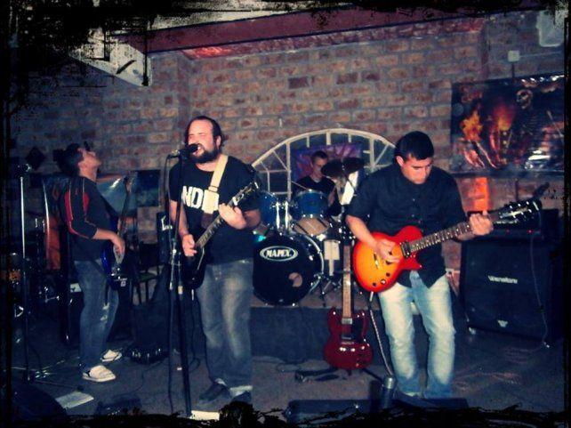 Origen. La banda está vigente en el circuito rockero desde hace seis años