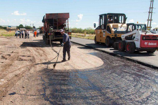 El segundo tramo de la autovía del Acceso Norte a Paraná presenta un 80% de avance