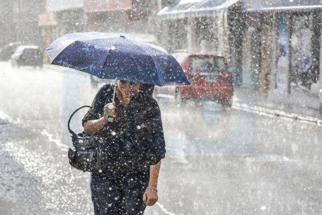 Rige un alerta por tormentas en la provincia