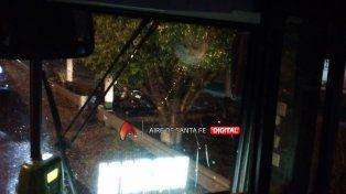 El ataque al colectivo de Fluviales donde resultó herida una mujer de Paraná.