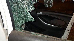 Durante la noche del sábado hubo una docena de ataques a autos particulares en la RN 168.