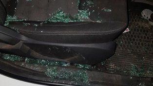 No paran de atacar a piedrazos a los vehículos que circulan por la 168