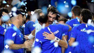 Argentina le ganó a Chile 3-2 y pasó al Repechaje de la Copa Davis