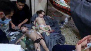 Un ataque químico en Siria dejó más de 70 muertos