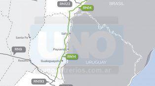 Desde este mes habilitan la autovía 14 para la circulación de los bitrenes