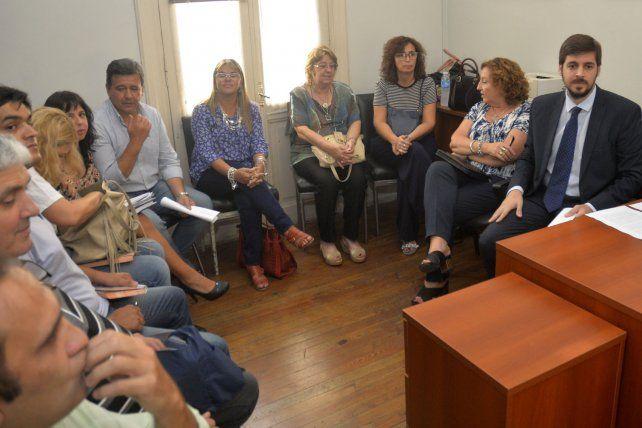 Posan todos los actores en el juzgado de primera Instancia del Trabajo N° 3 de Paraná