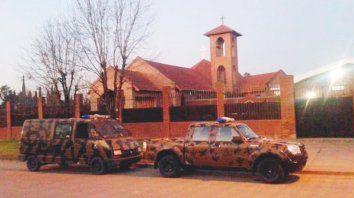 Allanamiento. La Policía irrumpió en el convento el 25 de agosto de 2016. Hallaron látigos y cilicios, elementos de flagelación.