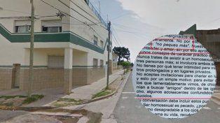 El CGE repudió la circulación de material homofóbico en una escuela de Paraná