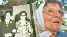 Sin justicia. Margarita Alegre de Papetti, madre del militante desaparecido, murió hace algunos años.