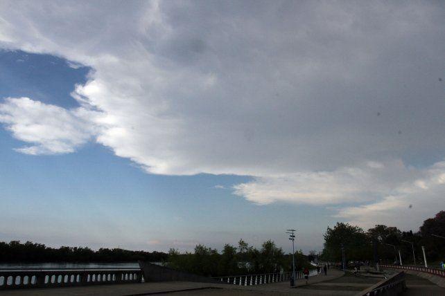 Hay alerta meteorológico para varios departamentos entrerrianos