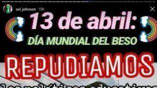 Habrá un besazo frente a la escuela Bautista de Paraná
