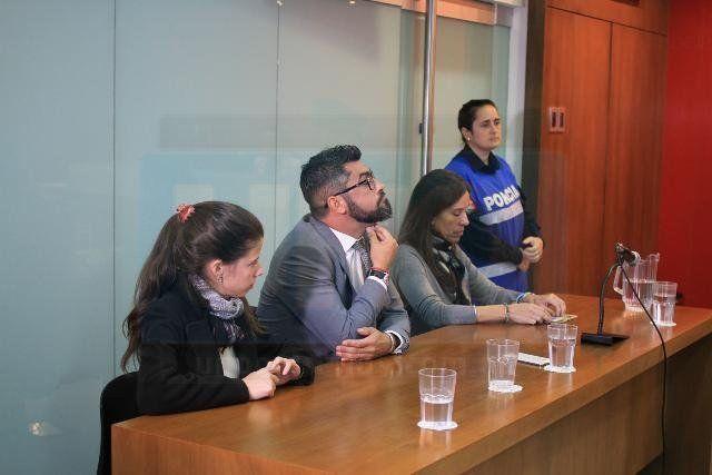Fallo ejemplar. El fiscal Malvasio destacó el trabajo para recoletar la contundente prueba. Foto: Juan Pereira.